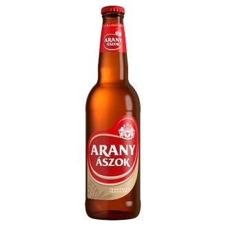Arany Ászok tradicionális világos sör 4,3% 0,5 l