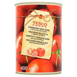 Tesco aprított paradicsom paradicsomlében 400 g