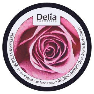 Delia Cosmetics Dermo System regeneráló hatású rózsa testkrém-souffle 200 ml