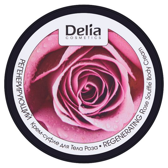 Delia Cosmetics Dermo System Regenerating Rose Soufflé Body Cream 200 ml