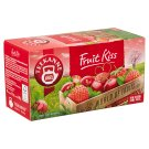 Teekanne World of Fruits Fruit Kiss Cherry and Strawberry Flavoured Fruit Tea Blend 20 Tea Bags 50 g