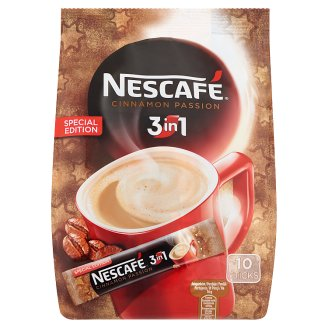 Nescafé 3in1 Cinnamon Passion Instant Coffee with Cinnamon 10 pcs 160 g