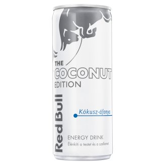 Red Bull The Summer Edition Coconut-Blueberry Flavoured Energy Drink with Caffeine & Arginine 250 ml