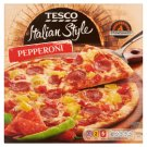 Tesco Italian Style Quick-Frozen Pepperoni Pizza 320 g