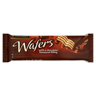 Ryelands Chocolates Wafers with a Chocolate Flavoured Filling 40 g