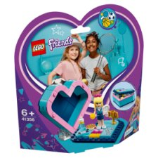 image 1 of LEGO Friends Stephanie's Heart Box 41356