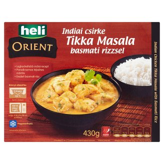 Heli Orient Indian Chicken Tikka Masala with Basmati Rice Pasteurized Ready-Meal 430 g
