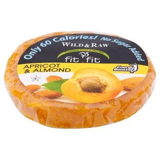 Fit Fit Wild & Raw Apricot & Almond aszalt sárgabarack tallér mandulával 25 g