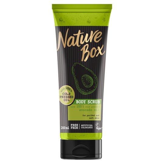 Nature Box Body Scrub with Cold Pressed Avocado Oil 200 ml