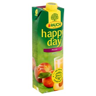 Rauch Happy Day Peach Nectar with Vitamin C 1 l