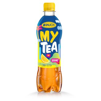 Rauch My Tea Ice Tea Lemon Flavoured Soft Drink Made from Black Tea 0,5 l