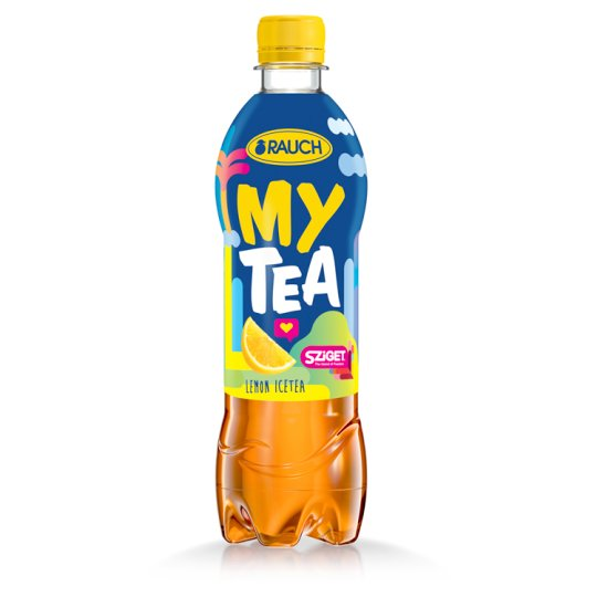 Rauch My Tea Ice Tea Lemon Flavoured Soft Drink Made from Black Tea 0,5 l