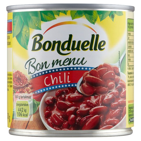 Bonduelle Bon Menu Chili Red Bean in Hot Mexican Sauce 430 g