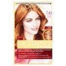 L'Oréal Paris Excellence Crème 7.43 Red Penny Permanent Hair Colorant