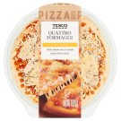 Tesco Quattro Formaggi Pizza with Cheese Mix 348 g