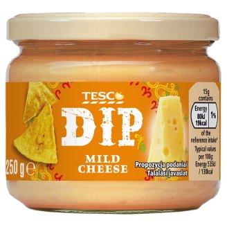 Tesco Dip közepesen csípős sajtos mártogatószósz csilipaprikával 250 g