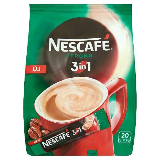 Nescafé 3in1 Strong Instant Coffee 20 pcs 360 g