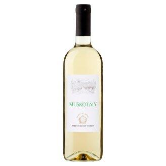 Duna-Tisza közi Muskotály félédes fehérbor 11% 750 ml