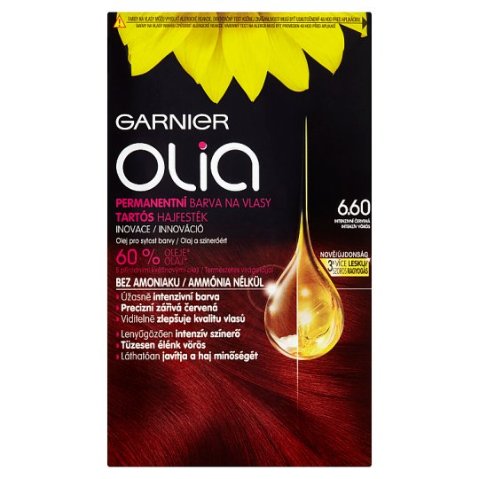 image 1 of Garnier Olia 6.60 Intense Red Permanent Colorant