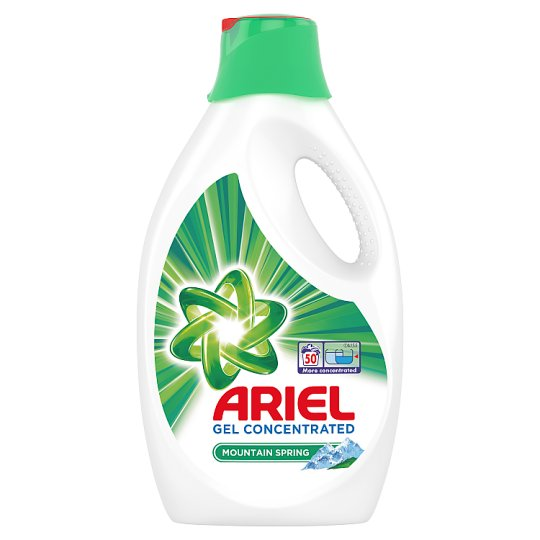 Ariel Washing Liquid Mountain Spring 2.75 L, 50 Washes