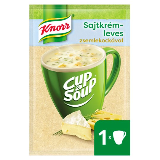 Knorr Cup a Soup Cheese Cream Soup with Croutons 22 g