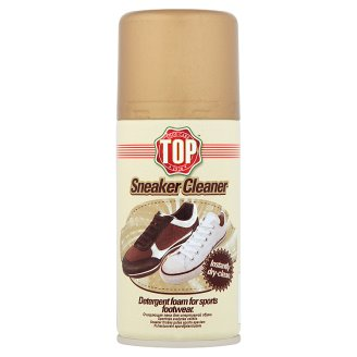 Top Sneaker Cleaner Detergent Foam for Sports Footwear 200 ml