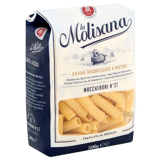 La Molisana Maccheroni N°37 durum búzadarából készült tészta 500 g