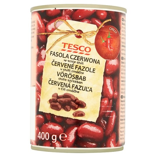 Tesco Red Beans in Chili Sauce 400 g