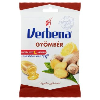 Verbena Ginger Flavoured Sweets with Vitamin C 60 g