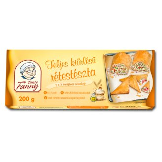 Tante Fanny Whole Wheat Strudel 6 pcs 200 g
