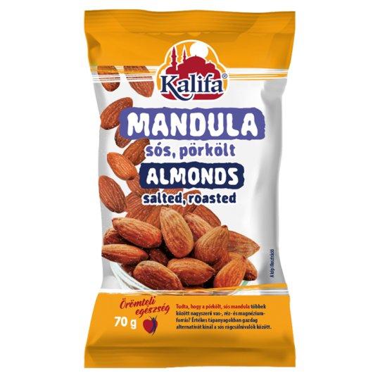 Kalifa Salted, Roasted Almonds 70 g
