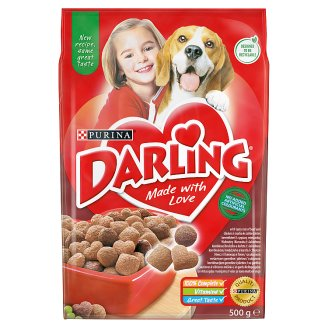 Darling Complete Pet Food for Adult Dogs with Meat and Vegetables 500 g