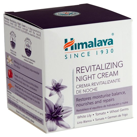 Himalaya Revitalizing Night Cream for Dry to Combination Skin 50 g
