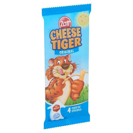 Zott Cheese Tiger félzsíros, félkemény mozzarella sajt 4 db 84 g