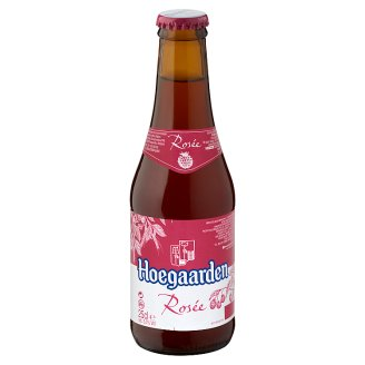 Hoegaarden Rosée Unfiltered, Belgian White Beer with Raspberry Flavour 3% 0,25 l