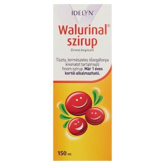Idelyn Walurinal szirup tőzegáfonya kivonatot tartalmazó étrend-kiegészítő 1 éves kortól 150 ml