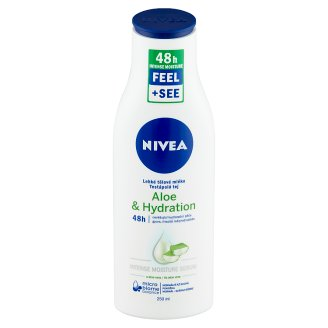 NIVEA Aloe & Hydration Body Milk with Deep Moisture Serum for Normal-Dry Skin 250 ml