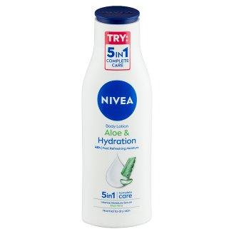 NIVEA Aloe & Hydration testápoló tej mélyhidratáló szérummal normál-száraz bőrre 250 ml