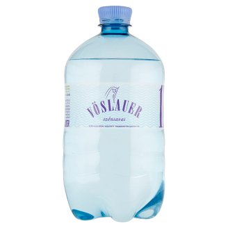 Vöslauer Carbonated Natural Mineral Water 1 l