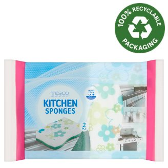 Tesco Kitchen Sponge 2 pcs