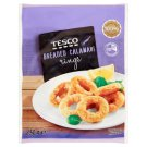 Tesco Pre-Fried Quick-Frozen Breaded Calamari Rings 250 g