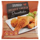 Tesco Quick-Frozen Breaded Chicken Drumsticks 900 g