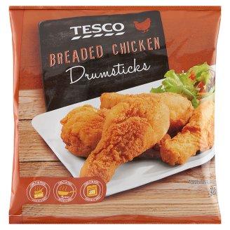 Tesco Quick-Frozen Breaded Chicken Drumsticks 900 g