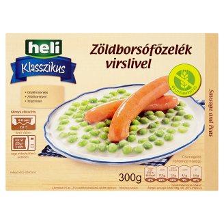 Heli Klasszikus Green Pea Stew with Frankfurters 300 g