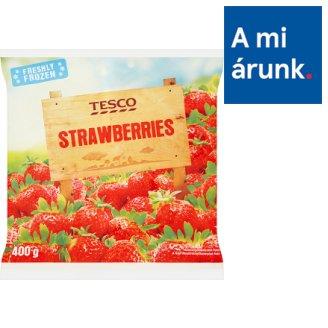 Tesco Quick-Frozen Strawberries 400 g