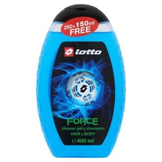 Lotto Force tusfürdő 400 ml