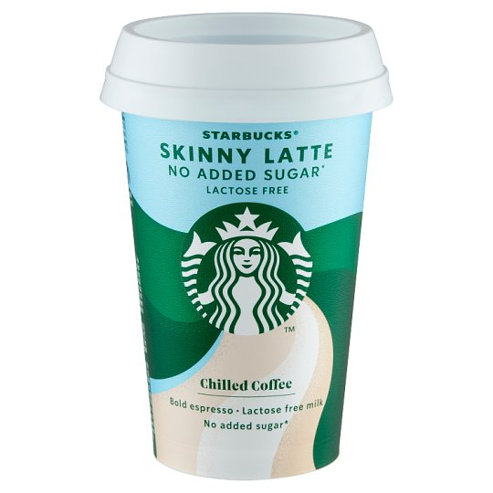 Starbucks Skinny Latte Lactose-Free Coffee Milk Drink 220