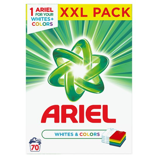 Ariel Washing Powder Whites & Colors 5,25 Kg 70 Washes
