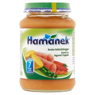 Hamánek Ham with Baby Vegetable Food for Babies 7+ Months 190 g