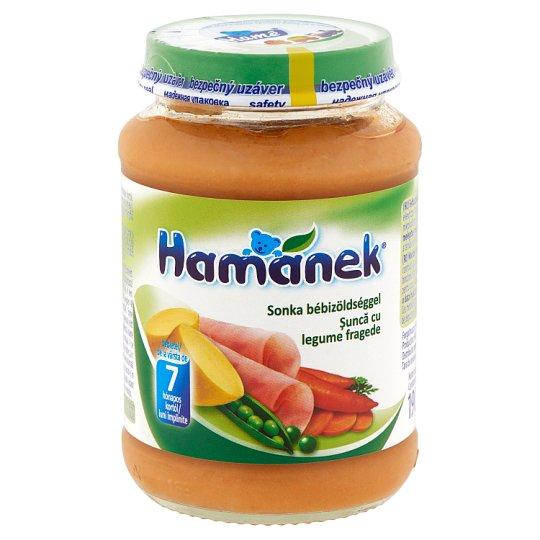 Hamánek sonka bébizöldséggel bébiétel 7 hónapos kortól 190 g